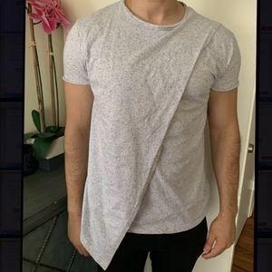 🎉HOST PICK🎉ASOS Asymmetrical T-Shirt w/ Fleck